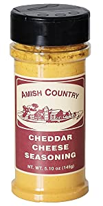 Amish Country Popcorn Cheddar Cheese seasoning topping flavoring