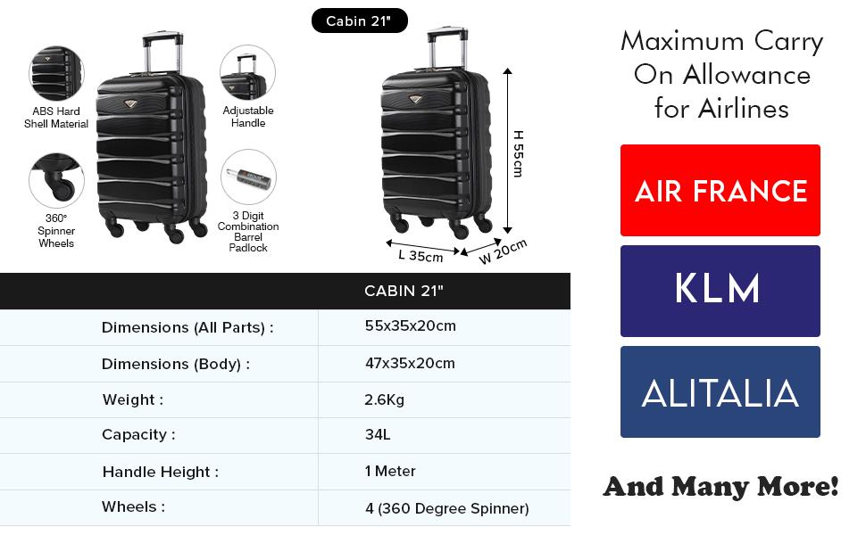 easyjet suitcase