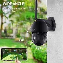 security cameras outdoor wifi cameras security cameras PTZ WiFi Home Surveillance IP Camera