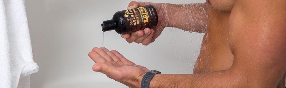 Body Wash Conditioner Shampoo for Men