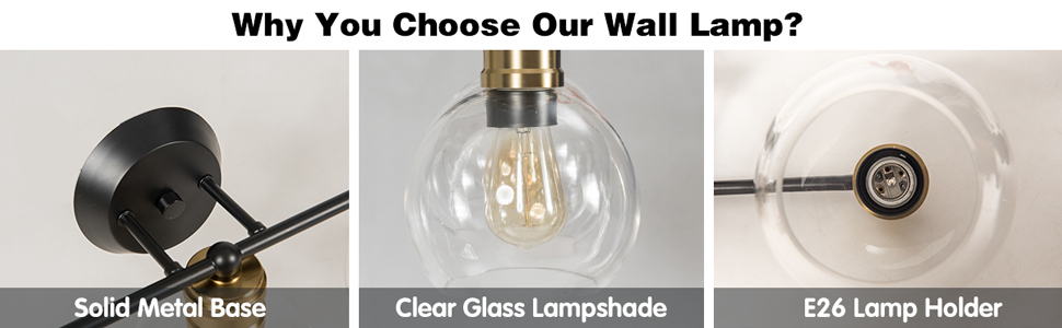 3 Light Vanity Wall Light
