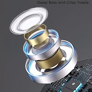 stereo earbuds deep bass earphone