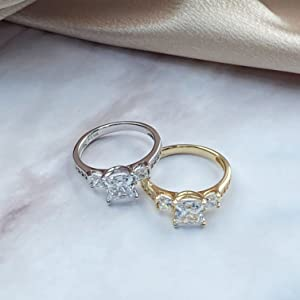 replacement ring alternative ring durable affordable strong metals tarnish free solid gold rings 14k