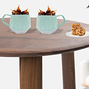coffee mug mugs set cups cup white ceramic plastic plates melamine sets big