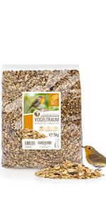 Rêve d'oiseau - Nourriture pour oiseaux de qualité supérieure, 5kg
