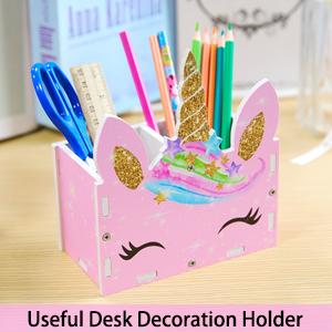 Pencil Holder Stationery Desk Organizer