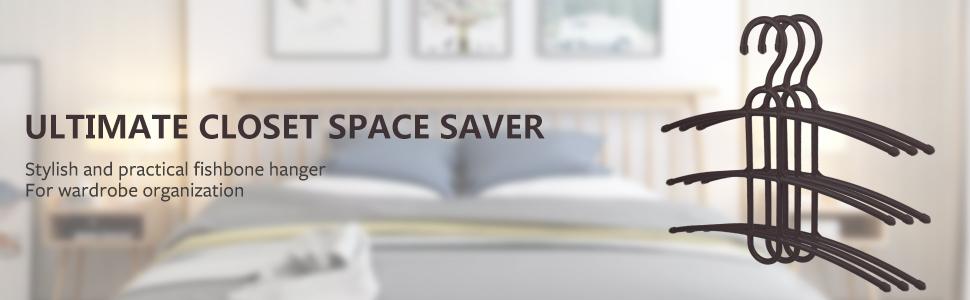 clothes hanger space saving