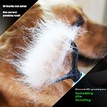 grooming,brush,rake,shedding, deshedding,comb,dog,cat,short,long,hair,dematting,mat,knot,tangle,tool