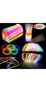 800 PCs Glow Sticks