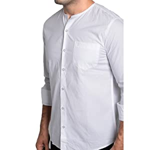 round neck collar shirts