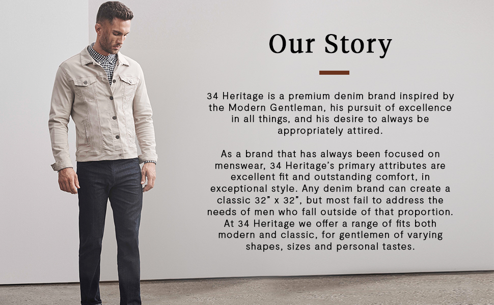 34 Heritage Denim