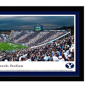 Inc Stripe The Stadium Panoramic Framed Pictures or Poster Blakeway Worldwide Panoramas Auburn Football