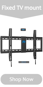 fixed tv wall mount tv bracket