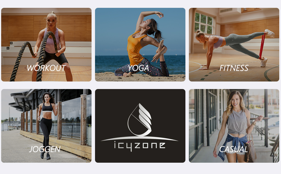 icyzone sport dames top