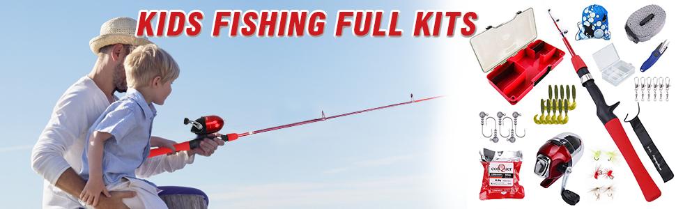 Kids Fishing Full Kits