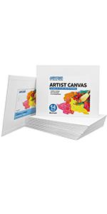 "8x10"" canvas panels 14 pack"