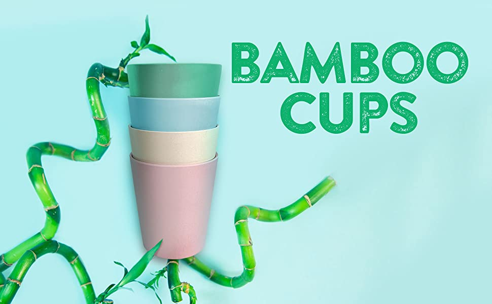 Bamboo Cups, Kids Cups, Toddler, Baby