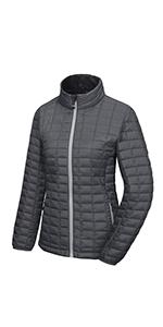 women pufferr lightweight jacket