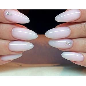 white nail gel