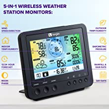 Logia 5-in-1 Wi-Fi Weather Station