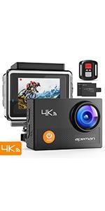 APEMAN 4k action camera Wi-Fi waterproof camera remote control sport camera underwater camera