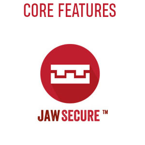 Core Features JawSecure Jaw Secure football hockey lacrosse judo boxing mma sports full contact