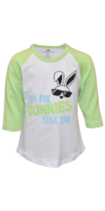 Unique Baby Boys Easter No Chicks Allowed Short Sleeved T Shirt