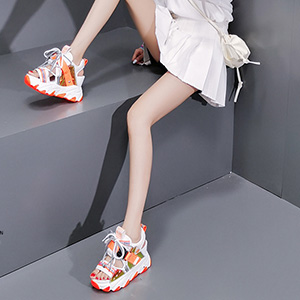 casual sneakers for girls rubber non slip walking shoes gowalk shoes for women lace up sandals