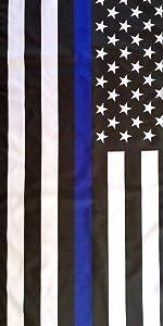 thin blue line american flag cops flag police flag