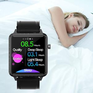 Smart watch with sleep monitor