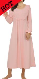 women maxi sleepwear