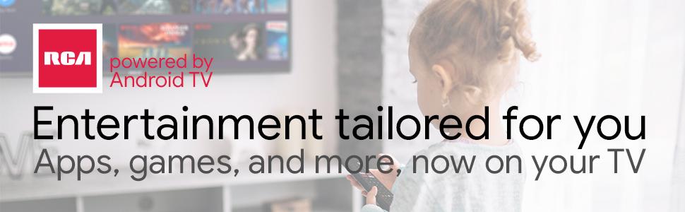 RCA RS43F2 Android TV (43 Pulgadas Full HD Smart TV con Google ...