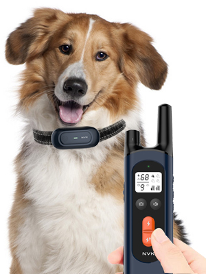 NVK Shock Collars for Dogs with Remote - Rechargeable Dog Training Collar