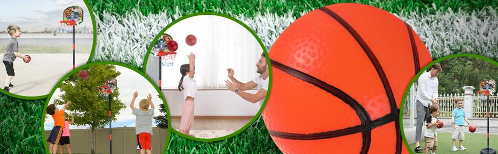 Mini Indoor Basketball Goal