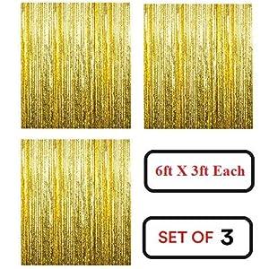 fringe foil curtain for decoration
