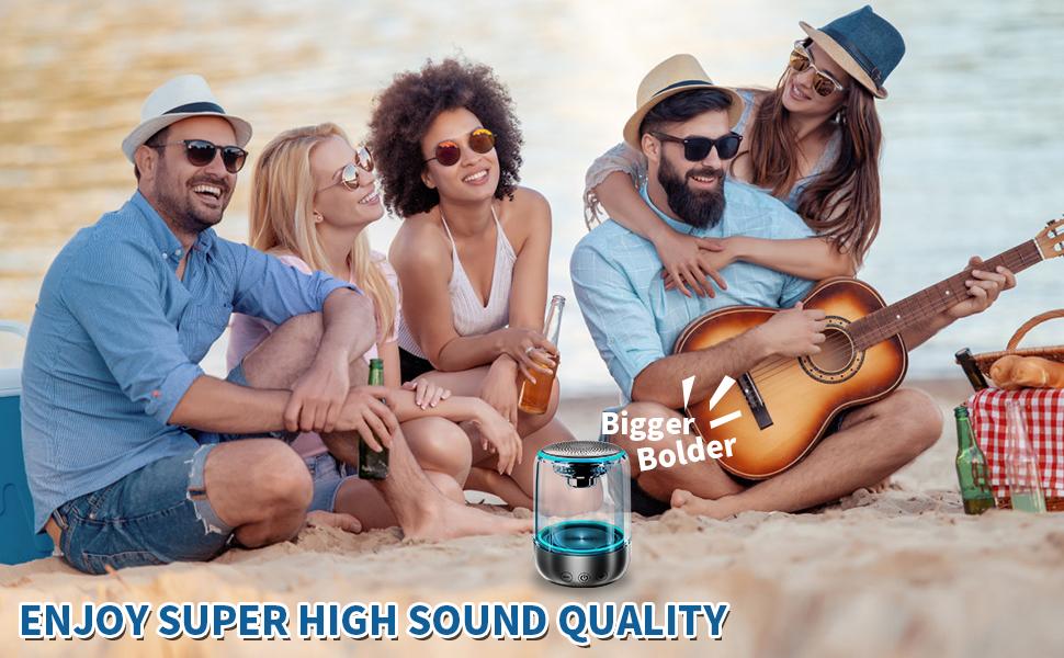 Enjoy super high sound quality