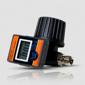 Diaphragm-Type Digital Pressure Regulator that Saves Materials and Less Overspray