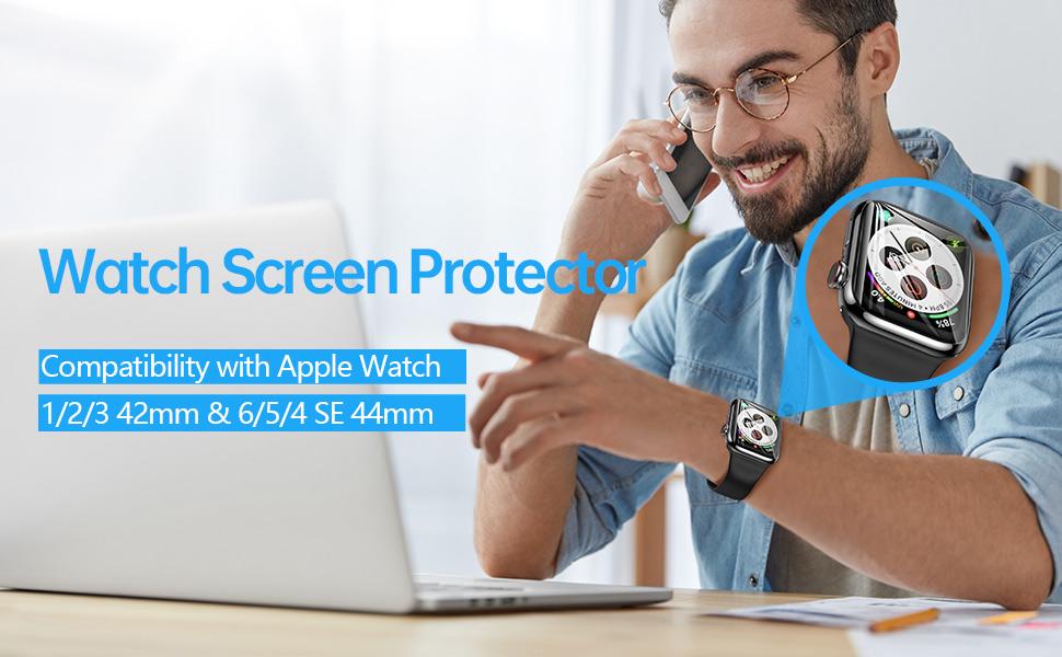 42mm 44mm screen protector watch