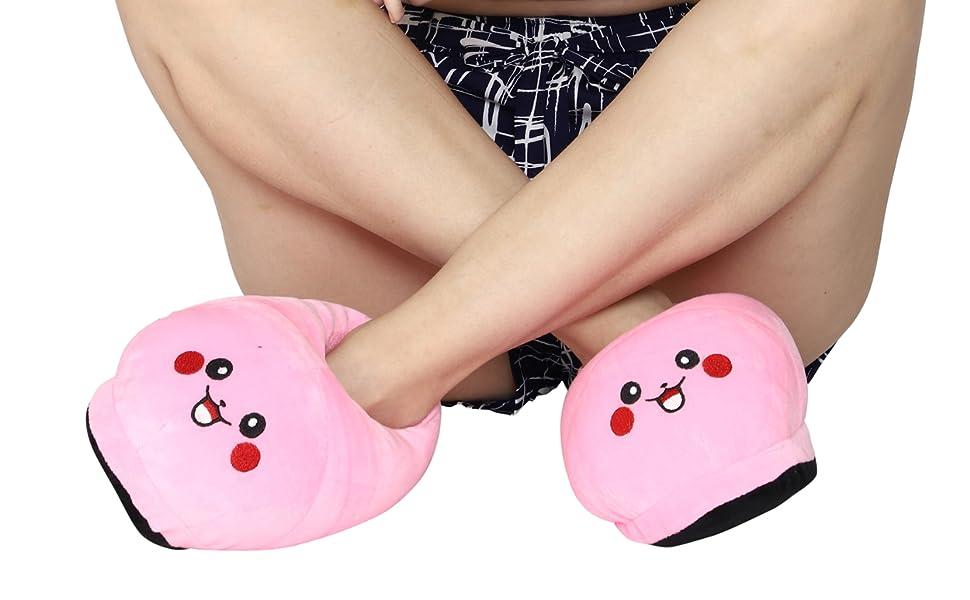 Pikachu winter warm Indoor Bedroom Slipper for Girls and Women