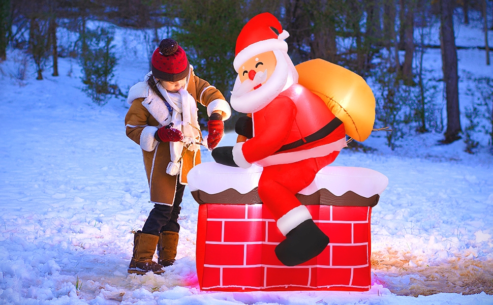 christmas decorations inflatables outdoor