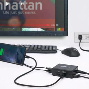 Smart power charger setup