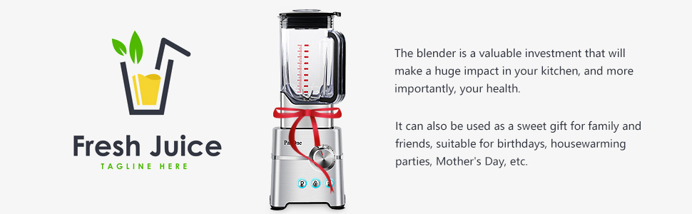 The blender is a valuable investment
