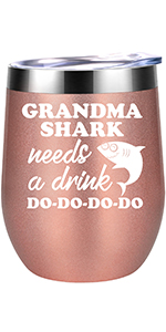Grandma Shark Needs a Drink