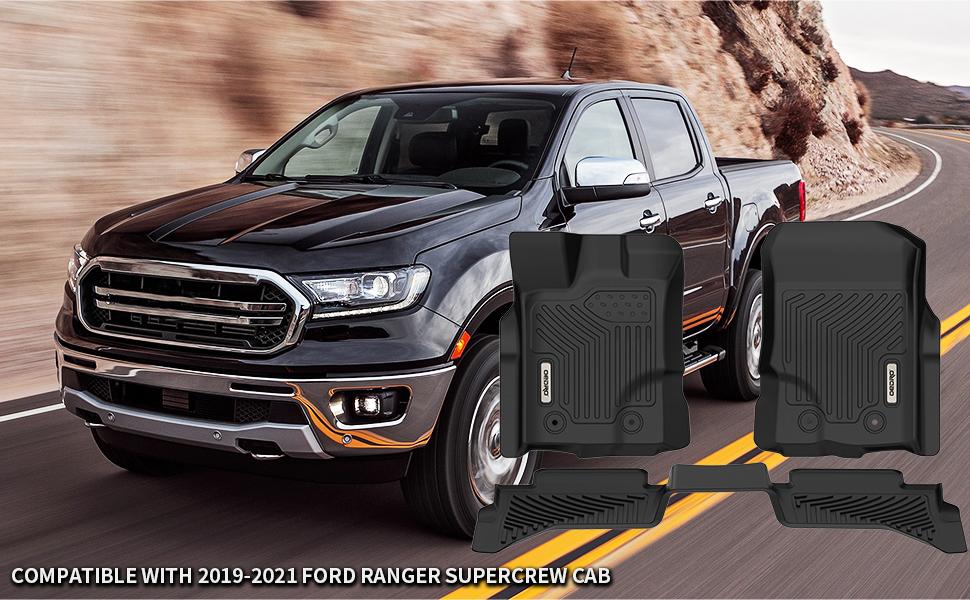 Ford Ranger floor mats