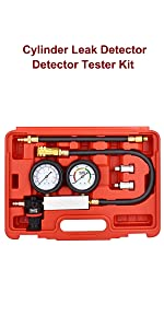 Cylinder Leakage Pressure Detector Test Set for Piston Ring, Valve, Head Gasket