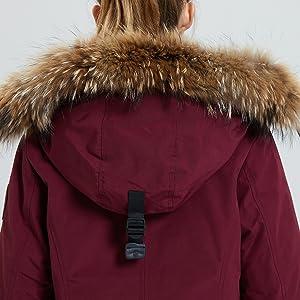 real fur trim