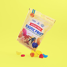 exotic fruit candy