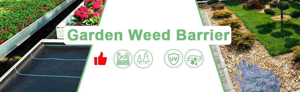 Brand: vensovo, Garden weed barrier