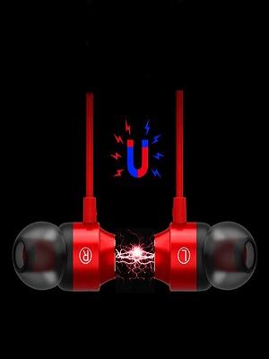 Magnetic earbuds, earphones under 500, headphones, wired earphones