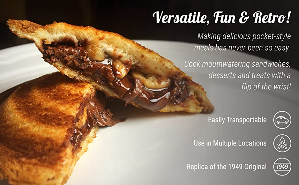 Versatile, Fun & Retro! Easily Transportable. Use in Multiple Locations.Replica of the 1949 Original